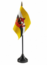 BRUNEI - Table Flag